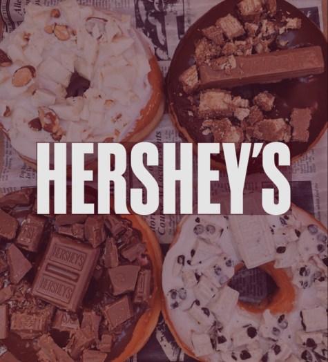 HERSHEY'S & Wood Doughnuts collaboration