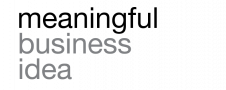 Meaningful Business Idea